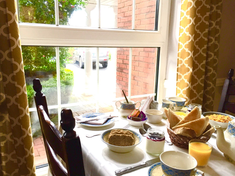Breakfast at Balally House