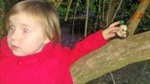 Bunratty Folk Park Child in Red
