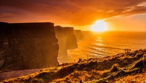 Cliffs Moher Sunset