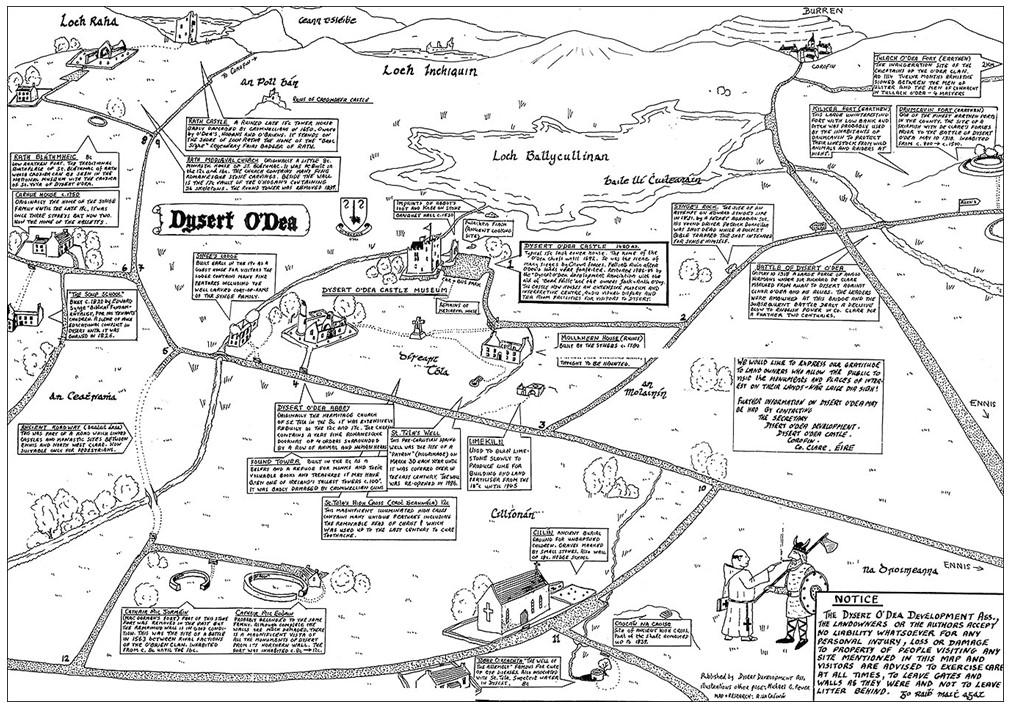 Dysert Odea Map