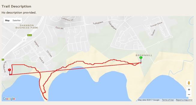 Shannon River Walk Map
